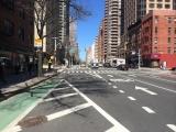 <h5>Second Avenue. A sub-urban road in an urban setting.</h5>