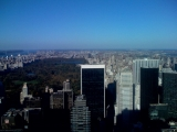 <h5>Looking north from 30 Rockefeller Center.</h5>