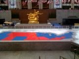 <h5>Yes We Can—NBC's election map at Rockefeller Center</h5>