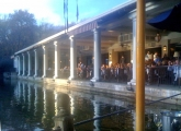 <h5>The Boathouse restaurant in Central Park</h5>