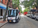 <h5>A narrow, electric FedEx truck—now discontinued</h5>