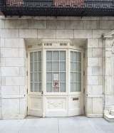 <h5>Aymar Embury, Hoyt House, 44 East 71st Street, 1929 - the garage bay</h5>