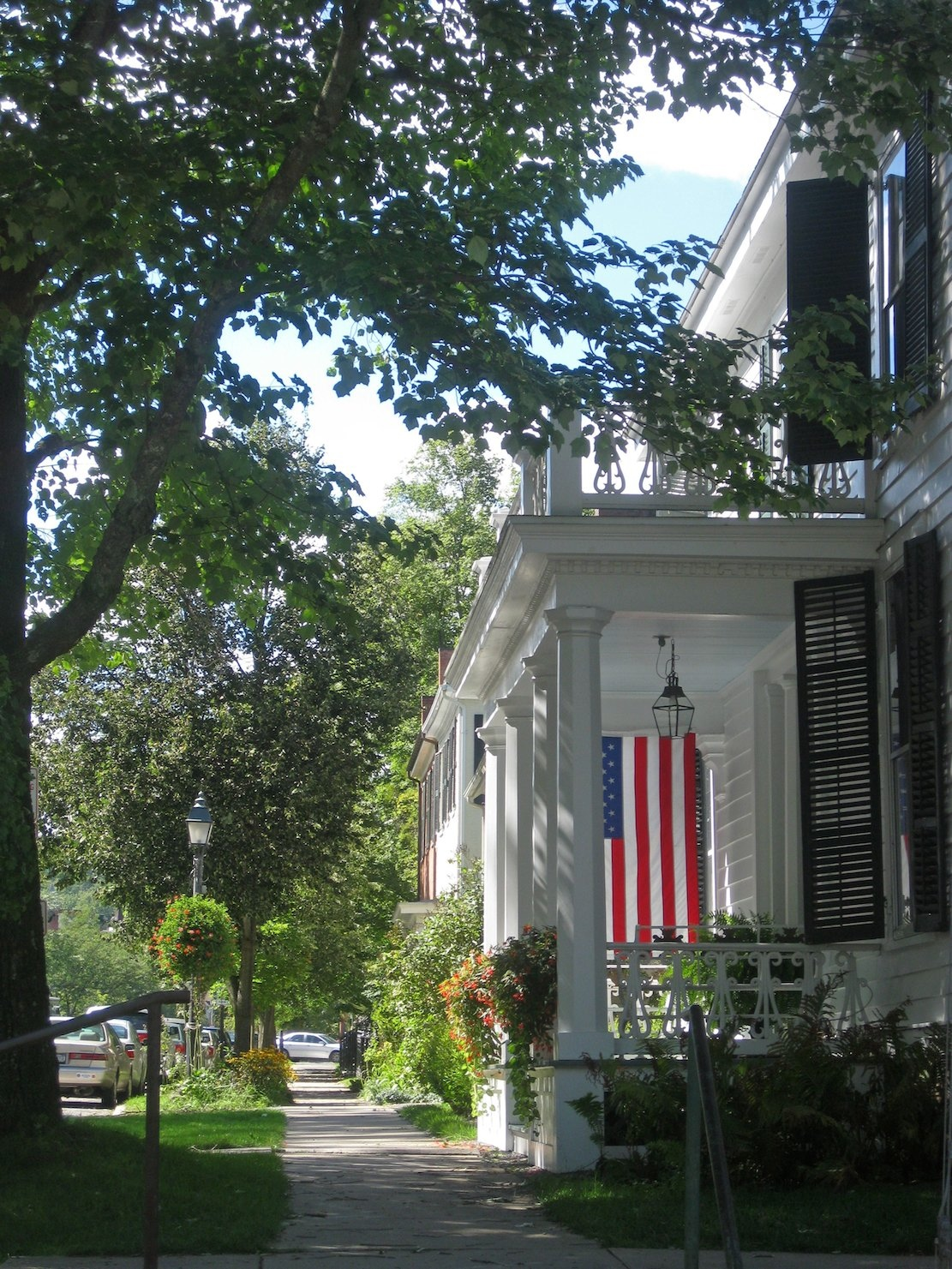 Main Street, Cooperstown, New York.