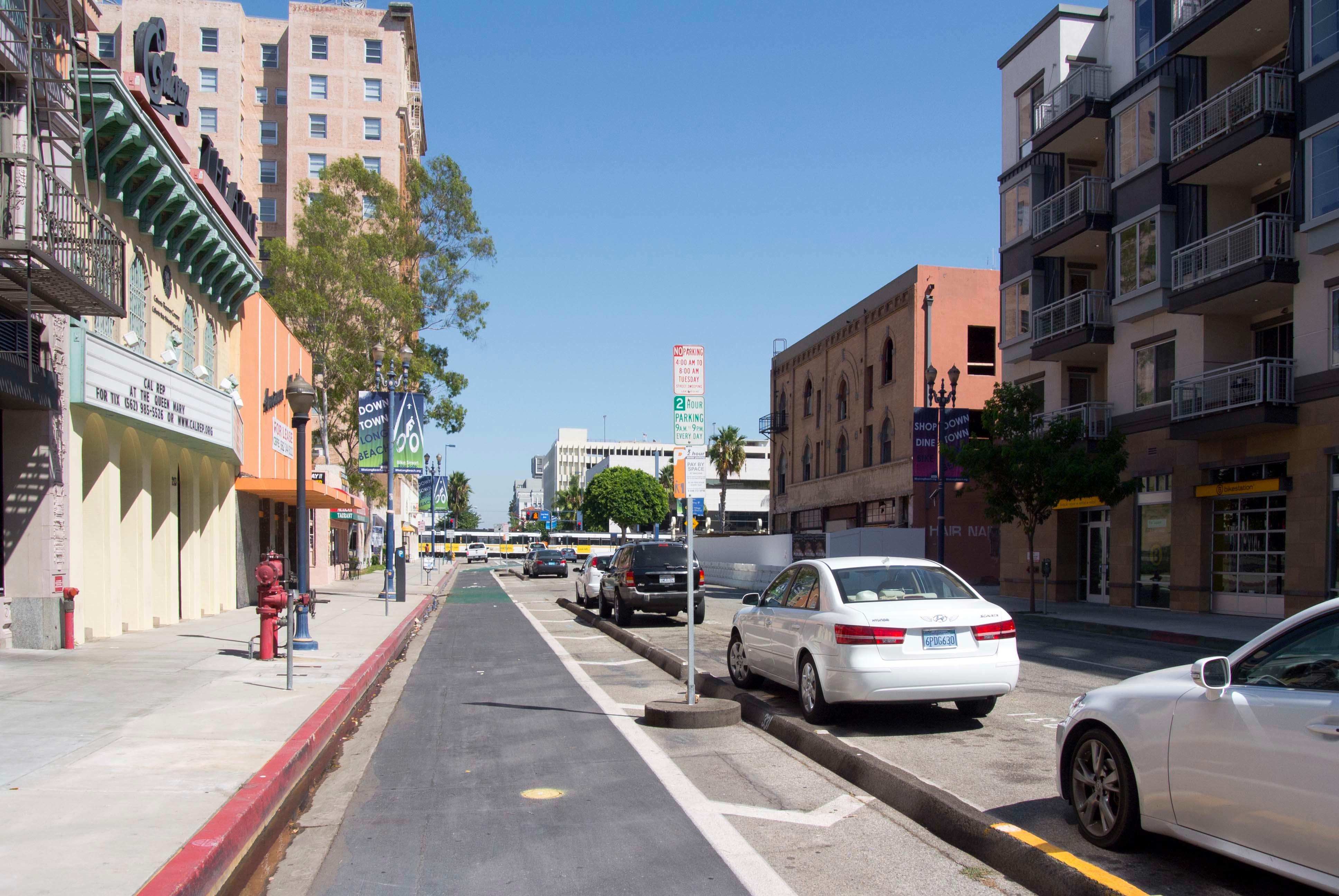 East Broadway, Long Beach, California.