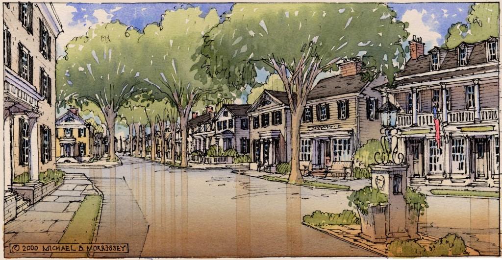 Main Street, Madison Landing.