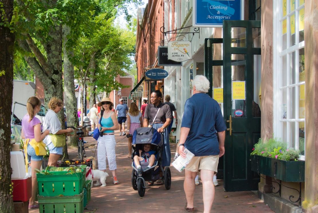 Main Street, Nantucket, Massachusetts.