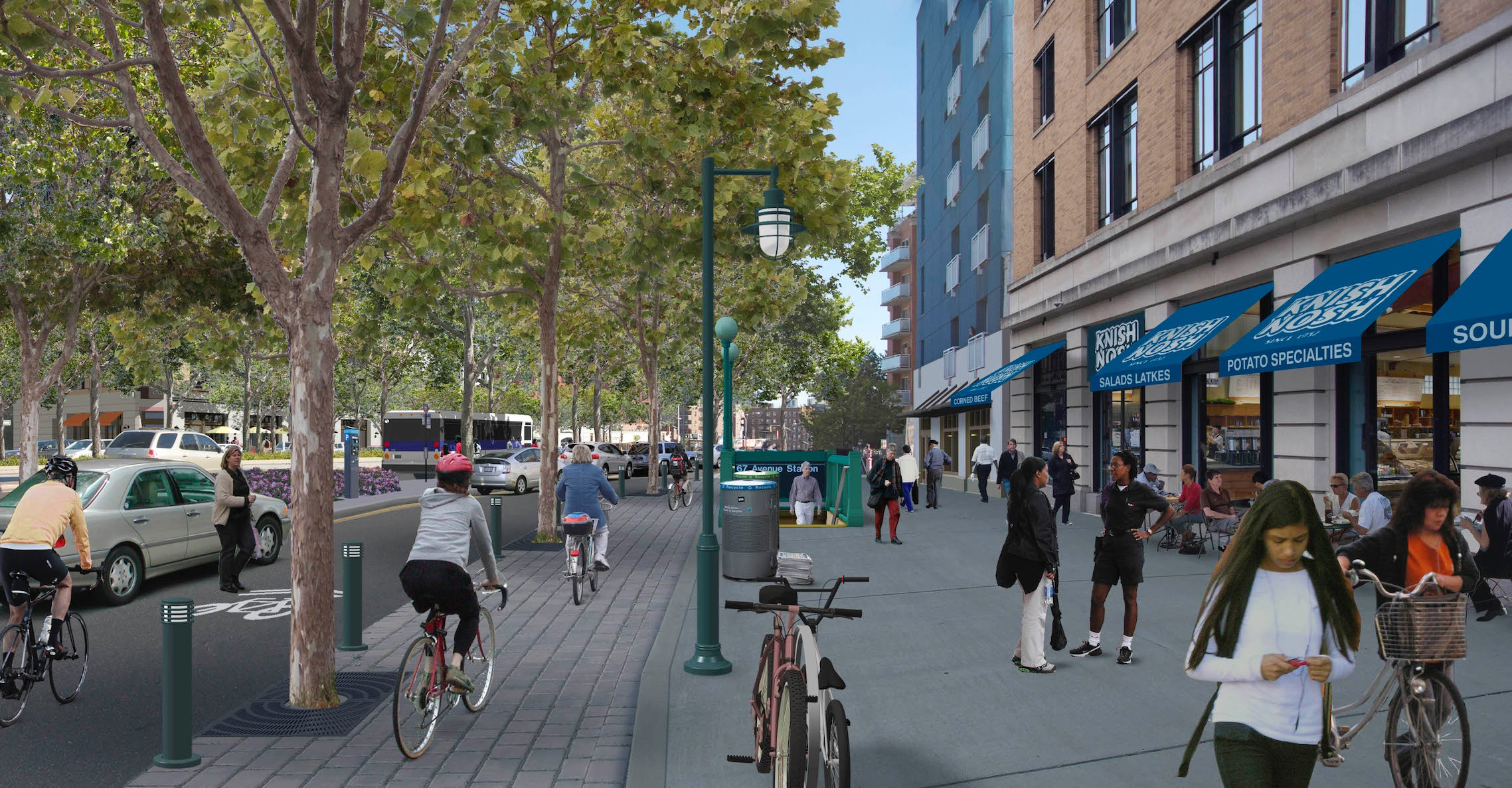 Queens Boulevard, After.